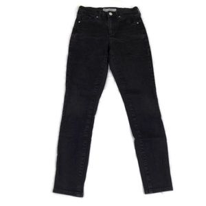 Topshop Moto SIDNEY Fit Black Skinny Stretch Jeans